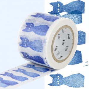 Taśma washi mt masking tape 35 mm - AO NEKO