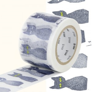 Taśma washi mt masking tape 35 mm - Kuro Neko