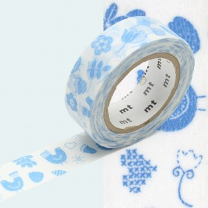 Taśma washi mt masking tape 15 mm - PTAKI
