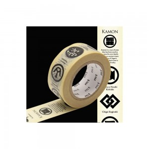 Taśma washi mt masking tape 20 mm - Herby
