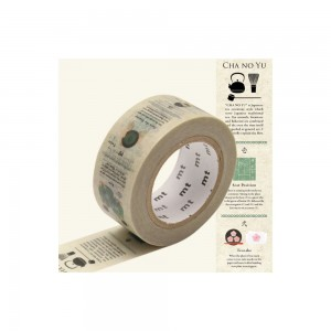 Taśma washi mt masking tape 20 mm - Ceremonia parzenia herbaty