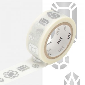 Taśma washi mt masking tape 15 mm - JEWEL