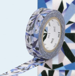 Taśma washi mt masking tape 15 mm diament