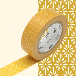 Taśma washi mt masking tape 15 mm - HANABISHI KIKU