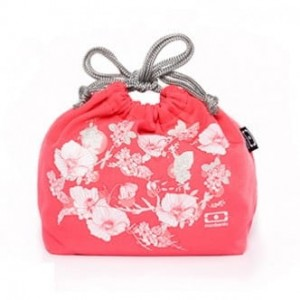 Torebka FLORAL na bento lunch box