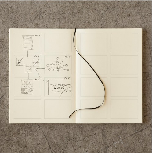 Japanese notebook MD storyboard