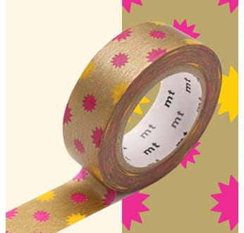 taśma washi mt masking tape gold